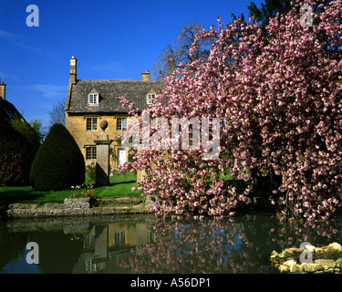 GB - GLOUCESTERSHIRE:  Cottage in the Cotswold village of Willersey - Stock Photo