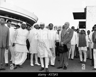 PCP033 Pandit Jawaharlal Nehru first Prime Minister of Independant India - Stock Photo