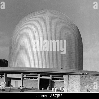 PCP037D First Indian Bhabha Atomic Reactor near Bombay - Stock Photo