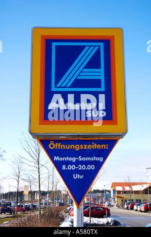 Logo of German supermarket chain Aldi