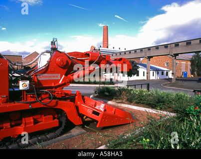 dh Mining Museum NEWTONGRANGE LOTHIAN Scottish Mining Museum buildings colliery coal pithead cutting machinery