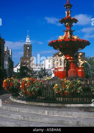 dh Town House DUMFRIES GALLOWAY Fountain main street shopping centre