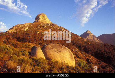 Lions Head Mountain, Cape Town, South Africa - Stock Photo