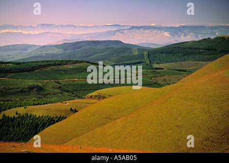 Long Tom Pass, Klein Drakensburg, South Africa - Stock Photo