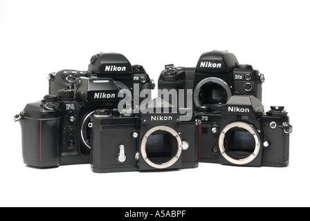 Nikon F Nikon F3 Nikon F4 F5