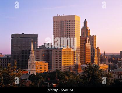 Providence, Rhode Island, USA - Stock Photo