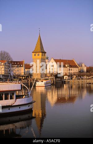 Lindau Im Bodensee, Bavaria, Germany - Stock Photo