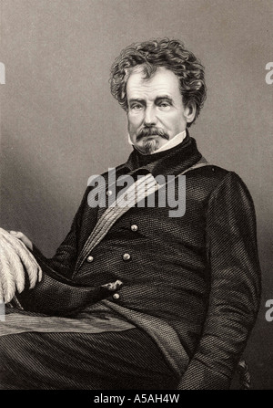 Sir Colin Campbell Lord Clyde 1792 to 1863 Scottish field marshal Commander in Chief of British forces in India - Stock Photo