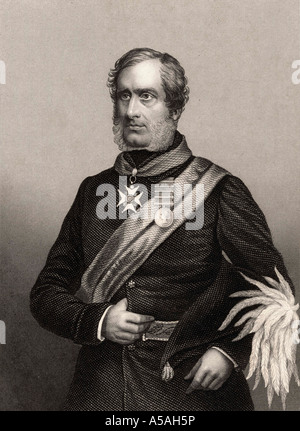 Major General Sir Henry Havelock 1795 to 1857 British General - Stock Photo