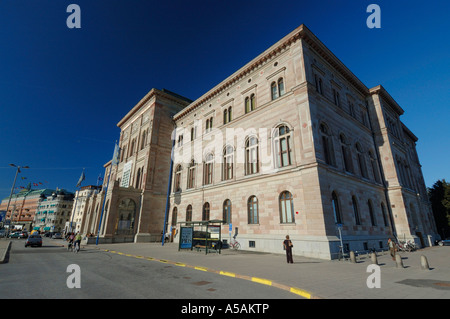 The National Museum of Fine Arts in Stockholm is Sweden's biggest museum of fine art - Stock Photo