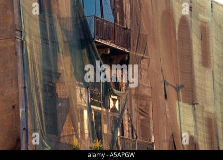 A building under construction in Beirut - Stock Photo