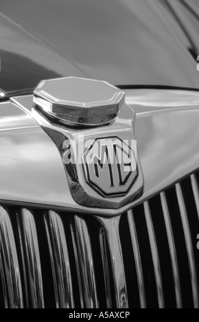MG Magnette ZA of 1955. English car manufacturer - Stock Photo