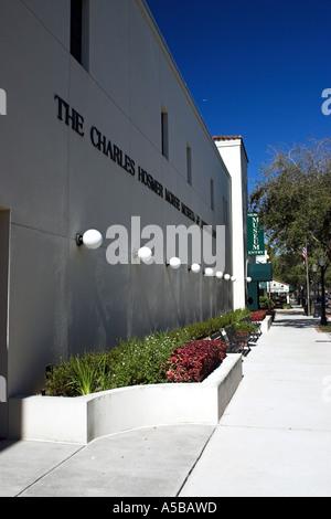 The Charles Hosmer Morse Museum of American Art, Winter Park, Orlando, Florida, USA - Stock Photo