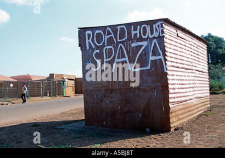 Shacks Soweto Johannesburg South Africa Africa Stock