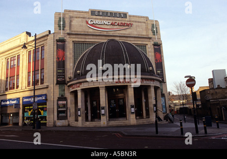 A scene outside one of the biggest non arena venues in London the Carling Brixton Academy - Stock Photo