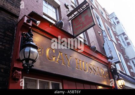 from Gibson gay hussar restaurant london