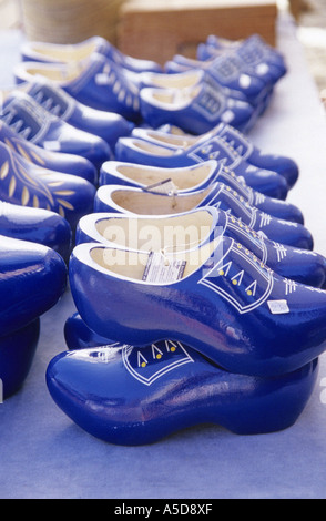Clogs, typical wooden shoes, Netherlands - Stock Photo