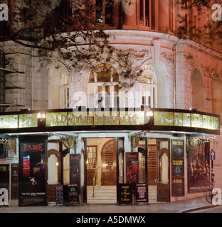 Aldwych Theatre on the Strand in London - Stock Photo