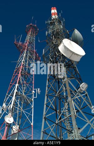 Transmitter Masts - Stock Photo