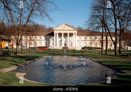 Aachen, Kurpark und Spielcasino, - Stock Photo