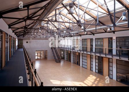 Gelsenkirchen, ehemalige Zeche Nordstern, BUGA 97, ehemalige Lohnhalle