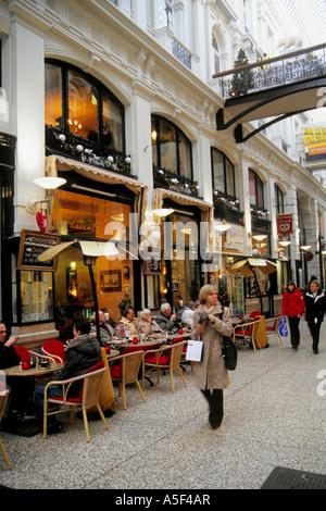 Netherlands The Hague Den Haag Passage shopping arcade - Stock Photo