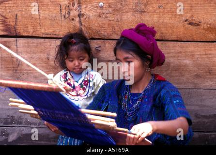 Indian Woman Guatemala - Stock Photo