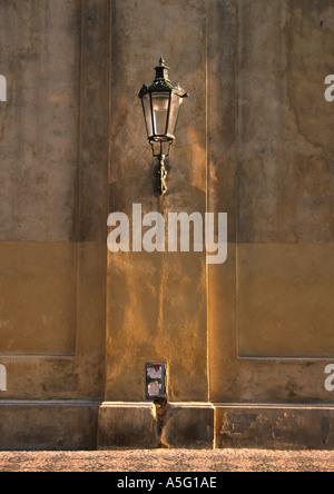Lamppost Old Town Prague - Stock Photo