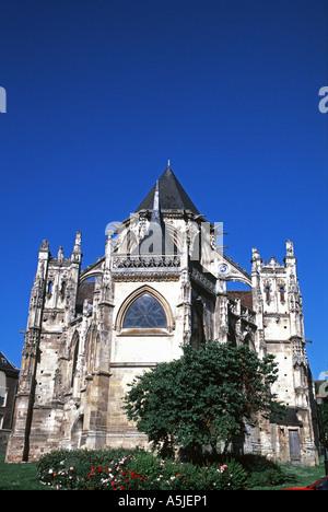 The Eglise de la Trinité at Falaise - Stock Photo