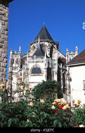 The Eglise de la Trinité at Falaise - Stock Photo