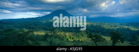 The Arenal Volcano Zona Norte Costa Rica - Stock Photo