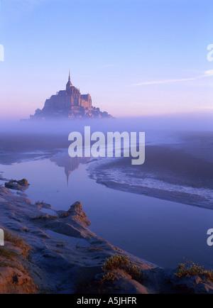 Mont Saint Michel. Manche, Normandie, France - Stock Photo