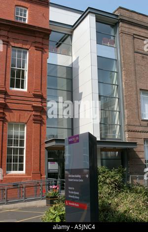 Martin Harris Building Coupland Street University of Manchester UK - Stock Photo