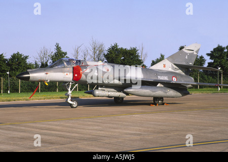 Dassault Super Etendard M operated by the French Navy - Stock Photo