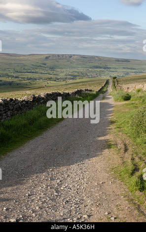 Cam High Road, Wensleydale, Yorkshire Dales National Park - Stock Photo