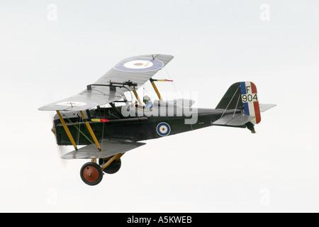 1918 RAF SE5A - Stock Photo