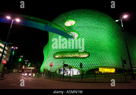 The Selfridges department store in Birmingham s Bullring shopping centre - Stock Photo