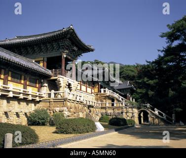 Pulguksa Temple Kyongju South Korea - Stock Photo