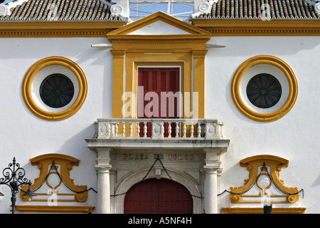 Seville Bullring Entrance detail - Stock Photo