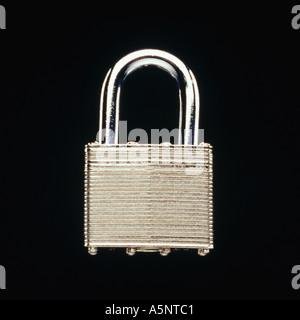 A padlock - Stock Photo