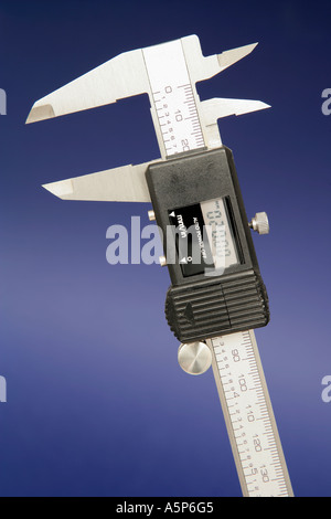 Caliper Vernier Rule Ruler Measurement - Stock Photo
