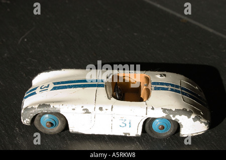 British Dinky Toys Cunningham C 5R No 133 from the late 1950s - Stock Photo