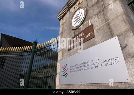 World Trade Organization WTO Geneva Switzerland - Stock Photo