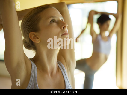 Yoga class - Stock Photo