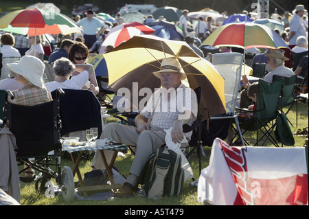 The annual Proms Spectacular at Ragley HAll Alcester Warwickshire England UK cb4w1987 - Stock Photo
