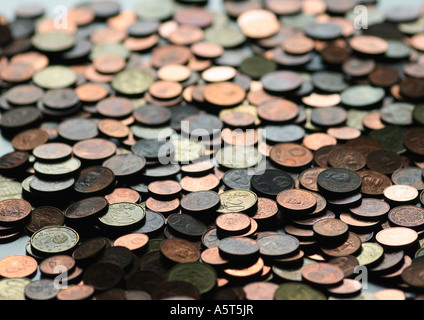 Coins, full frame - Stock Photo