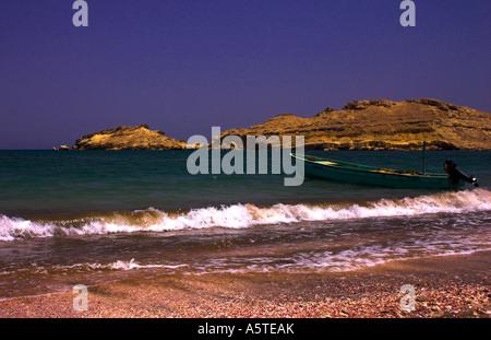 Beach in Oman - Stock Photo