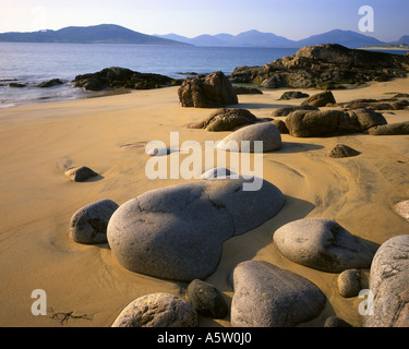 GB - SCOTLAND:  Sands of Luskentyre at Seileboast on the Isle of Harris - Stock Photo
