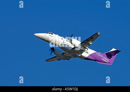 BAe Jetstream 4102 operated by Eastern Airways based in Aberdeen. Scotland.   XAV 4951-463 - Stock Photo