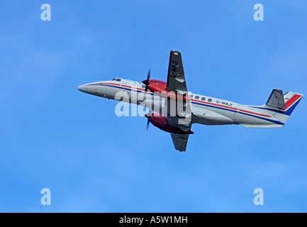 BAe Jetstream 4102 operated by Eastern Airways based in Aberdeen.   XAV 4956-463 - Stock Photo